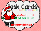 Subtraction Task Cards - Holiday Edition