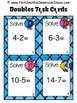 Subtraction Task Cards, Recording Sheet and Board Game - Ocean Themed