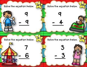 Subtraction Centers