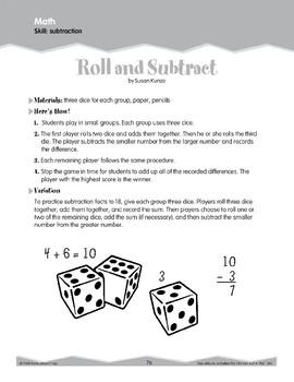 Subtraction (Ten-Minute Activities)
