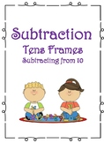Subtraction Tens Frame Center