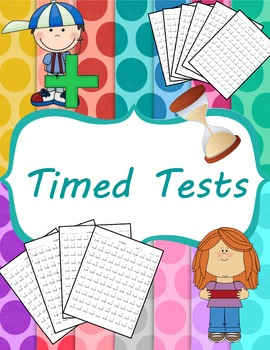 Subtraction Timed Tests (0-12) and Mixed