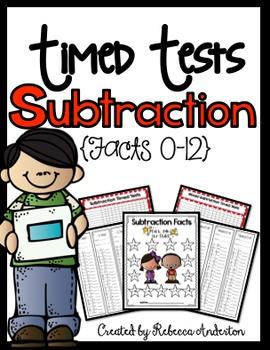 Fact Fluency Subtraction