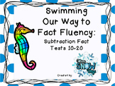 Subtraction Timed Tests 10-20