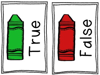 Subtraction True and False {Freebie}