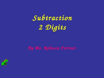 Subtraction: Two Digits for Visual Learners