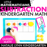 Subtraction Unit: Kindergarten Guided Math