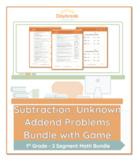 1st Grade Math | Subtraction: Unknown Addend Problems