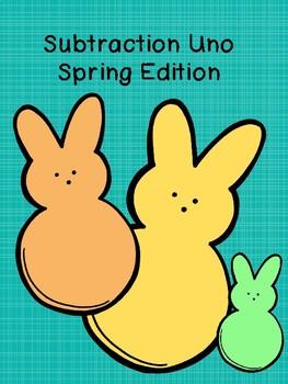 Subtraction Uno (Spring Edition)