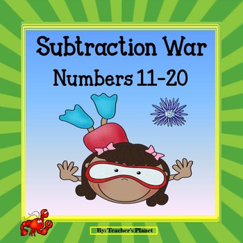Subraction Games - Subtraction War! Numbers 11-20