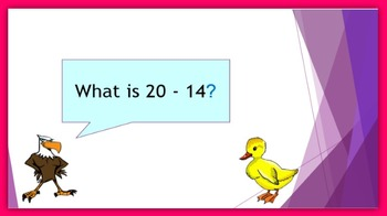 Subtraction Warm-up in Five Minutes – subtract within 20