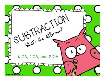 Subtraction:  What's The Difference?