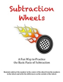 Subtraction Wheels - A Fun Way to Practice the Basic Facts of Subtraction