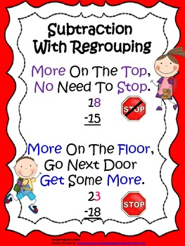 Subtraction Freebie -  Regrouping