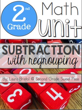 Subtraction With Regrouping {Common Core Aligned}
