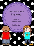 Subtraction with Regrouping Packet