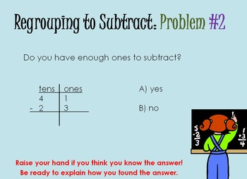 Subtraction With Regrouping (PowerPoint)