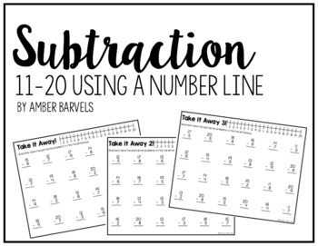 Subtraction With a Number Line