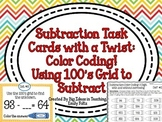 Subtraction With a Twist: Subtracting Two Digit Numbers with 100s Grid