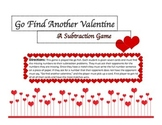 Subtraction With and Without Regrouping Valentines Math Game