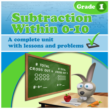 Subtraction Within 0-10, Grade 1