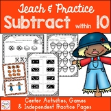 Subtraction Within 10 - First Grade