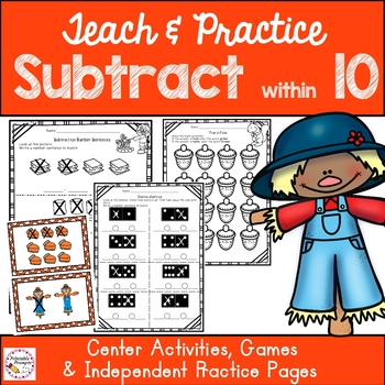 Subtraction Within 10