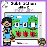 Subtraction Within 10 Boom Cards℠