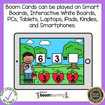 Boom Cards Subtraction Within 10