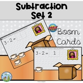 Subtraction Within 10, Distance Learning, Boom Cards
