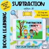Subtraction Within 20 Boom Learning℠ | SPRING