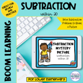 Subtraction Within 20 Boom Learning℠ | Spring Picture Reveal