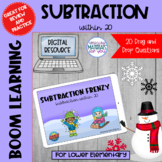 Subtraction Within 20 Boom Learning℠ | WINTER