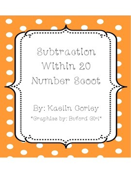 Subtraction Within 20 Scoot