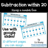 Subtraction Within 20 Using a Number Line