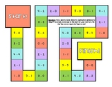 Subtraction Within 5 Board Game