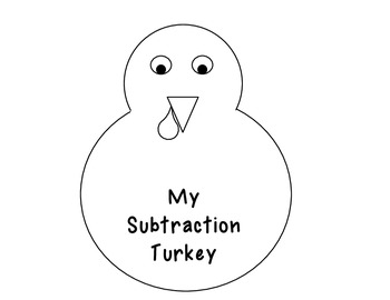Subtraction Without Regrouping Turkey