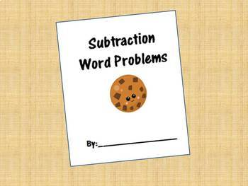 Subtraction Word Problem Book (with Regrouping)