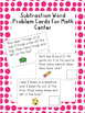 Subtraction Word Problem Cards