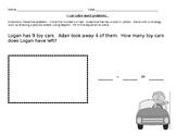 Subtraction Word Problem Exit Ticket