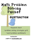 Subtraction Word Problem Packet