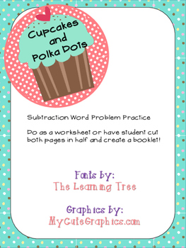 Subtraction Word Problem Practice