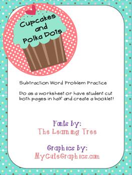 Subtraction Word Problem Practice