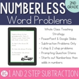 Subtraction Word Problem Strategy-Solve Numberless Story Problems