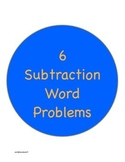 6 Common Core Subtraction Word Problem Worksheets