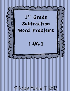 Subtraction Word Problems 1.OA.1