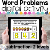 Subtraction Word Problems - Digital Activity for Special E