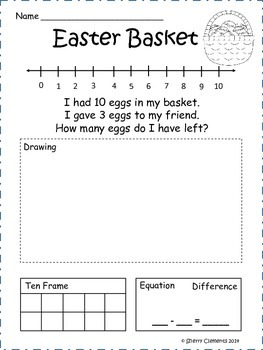 Easter Word Problems