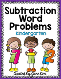 Subtraction Word Problems For Kindergarten