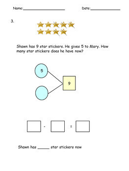 Subtraction (within 10) Grade K-1